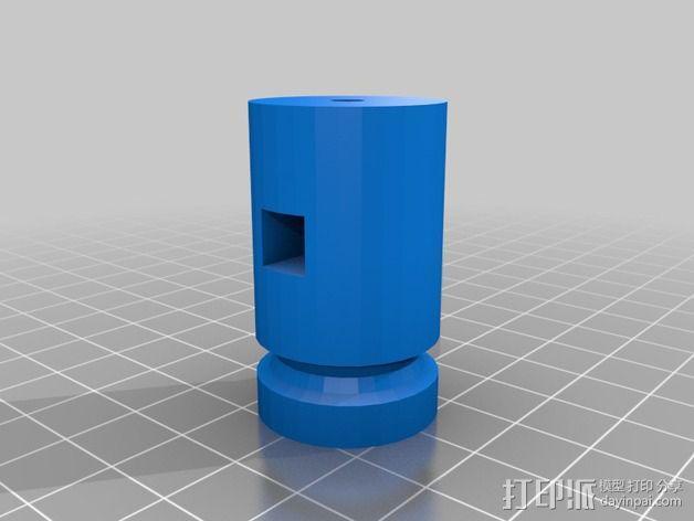 车床刀架 3D模型  图2