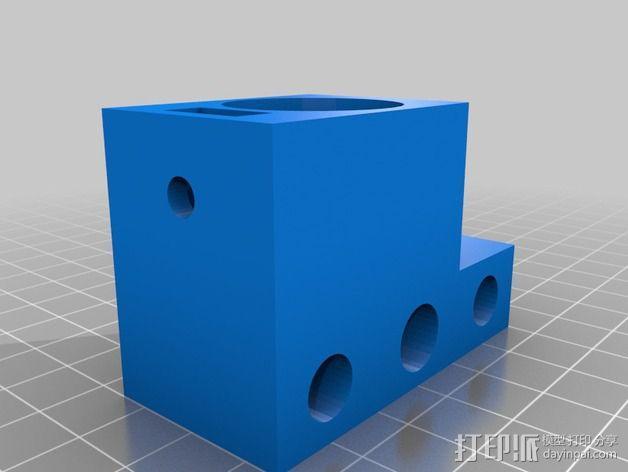 车床刀架 3D模型  图3