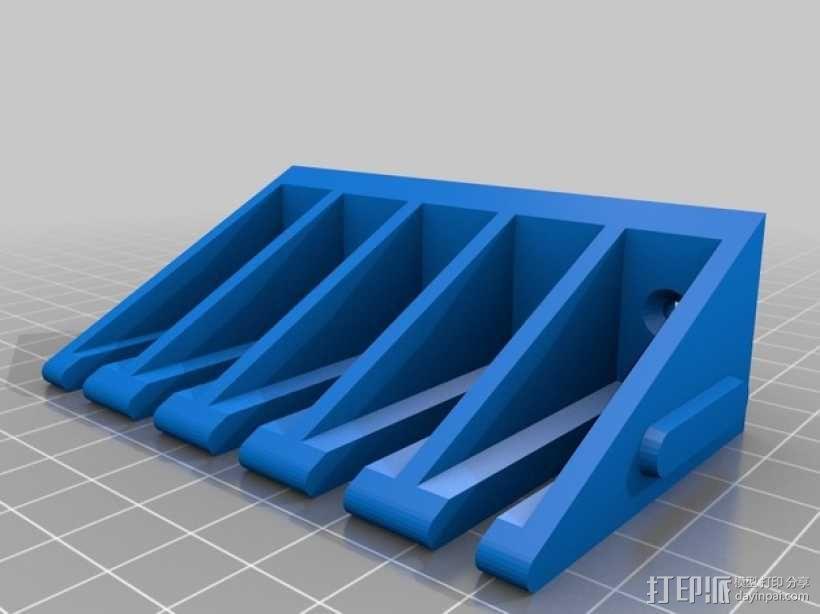 测试引线架 3D模型  图4