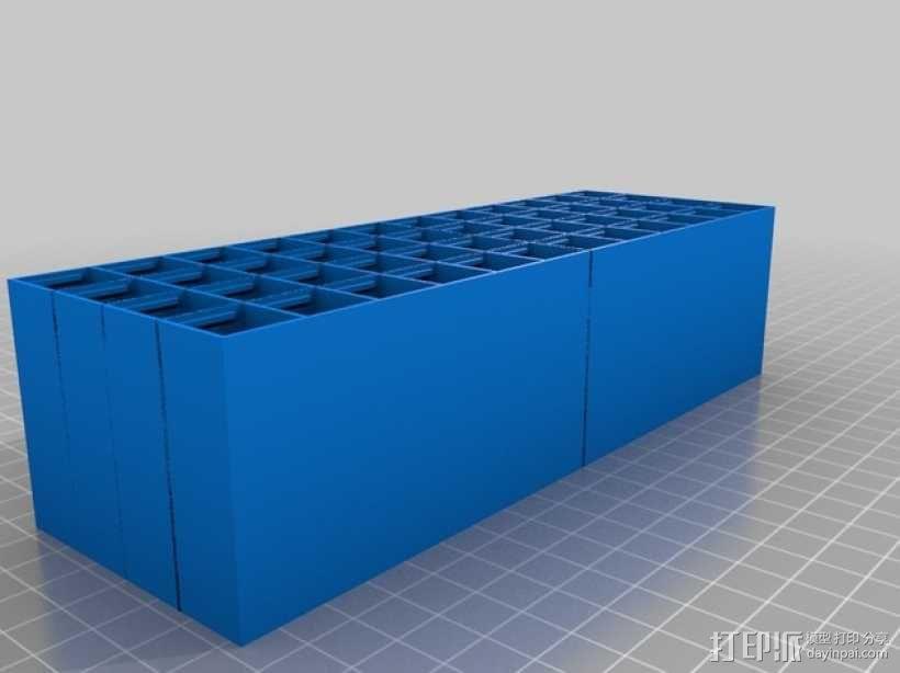 定制化工具收纳柜 3D模型  图2