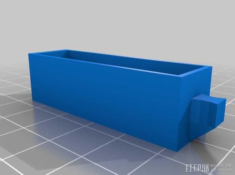 定制化工具收纳柜 3D模型  图3