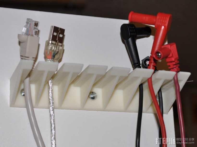 探针/线缆支架 3D模型  图1