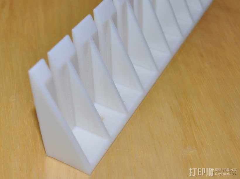 探针/线缆支架 3D模型  图2