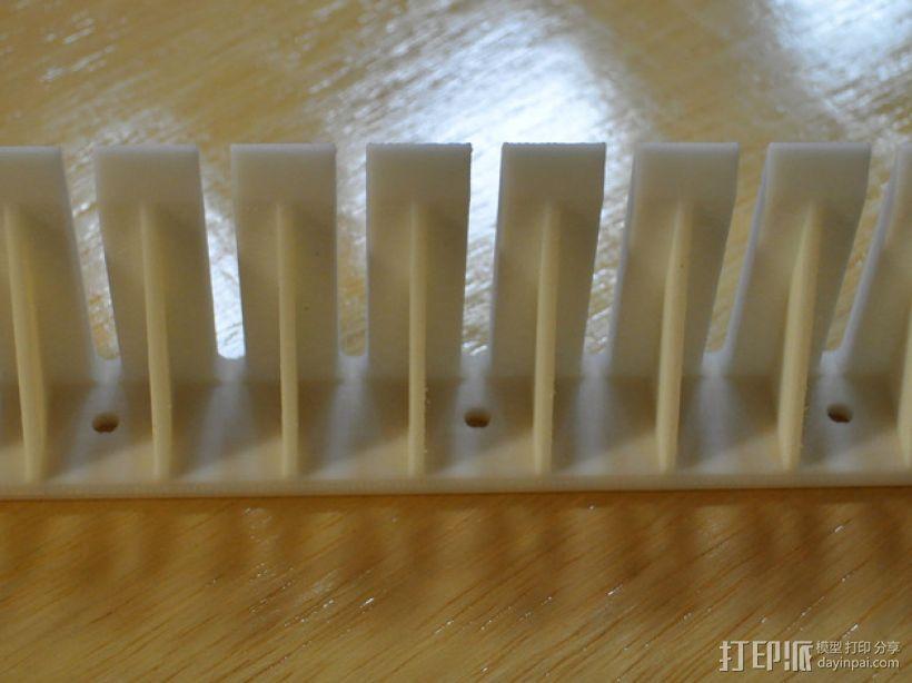 探针/线缆支架 3D模型  图3