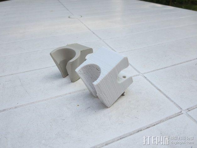 牙医钻床支座  3D模型  图1