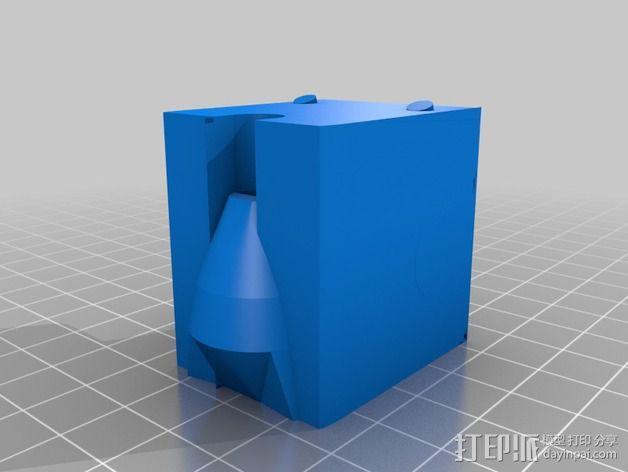 牙医钻床支座  3D模型  图2