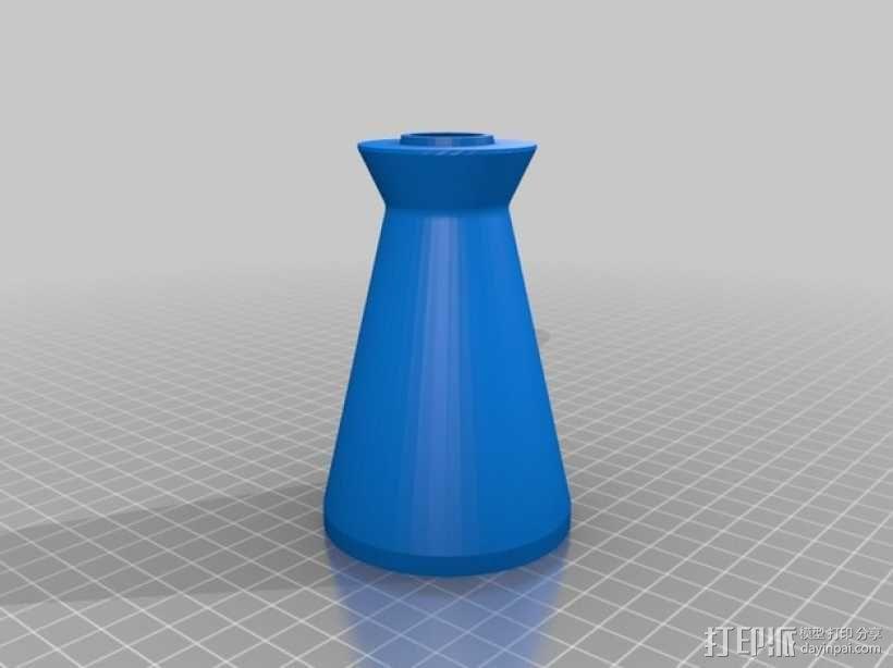 旋风式除尘器 3D模型  图4
