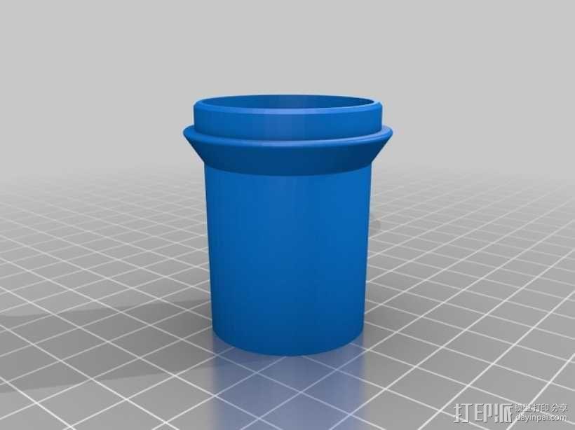 旋风式除尘器 3D模型  图3