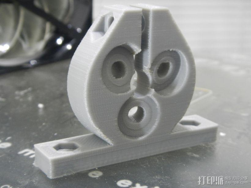 定制化滚珠螺杆 3D模型  图1