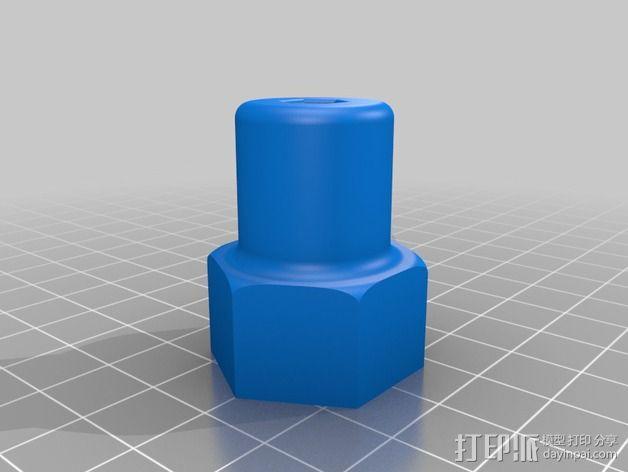 螺丝刀手柄 3D模型  图2