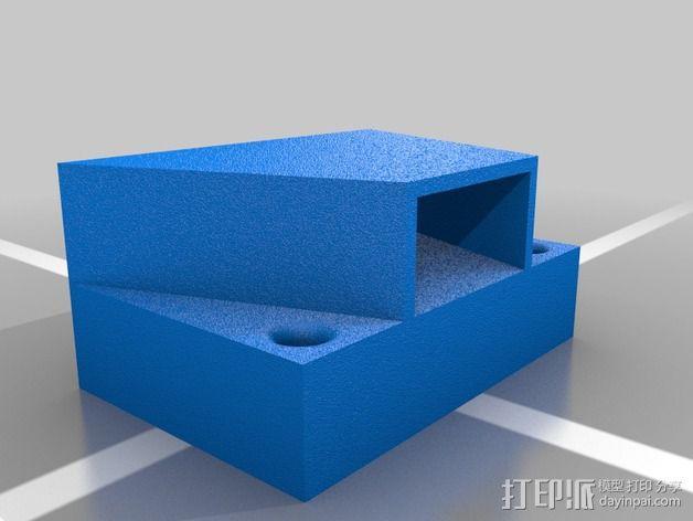 钢丝钳固定夹 3D模型  图2