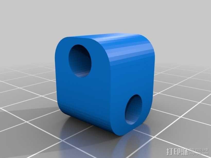 耦合器/万向节 3D模型  图3