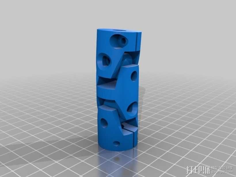 耦合器/万向节 3D模型  图2