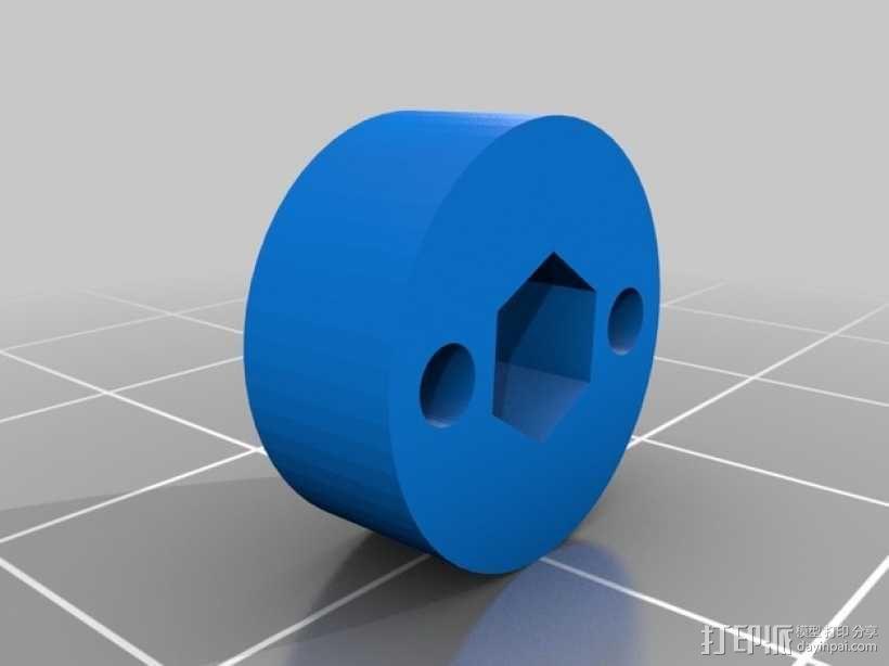 电动螺丝刀绞线器  3D模型  图2