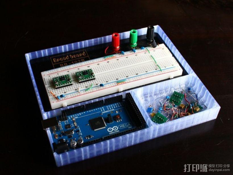 Arduino主板托盘 3D模型  图2