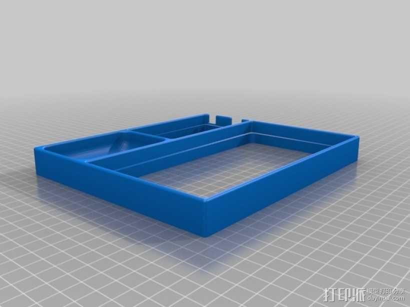 Arduino主板托盘 3D模型  图1