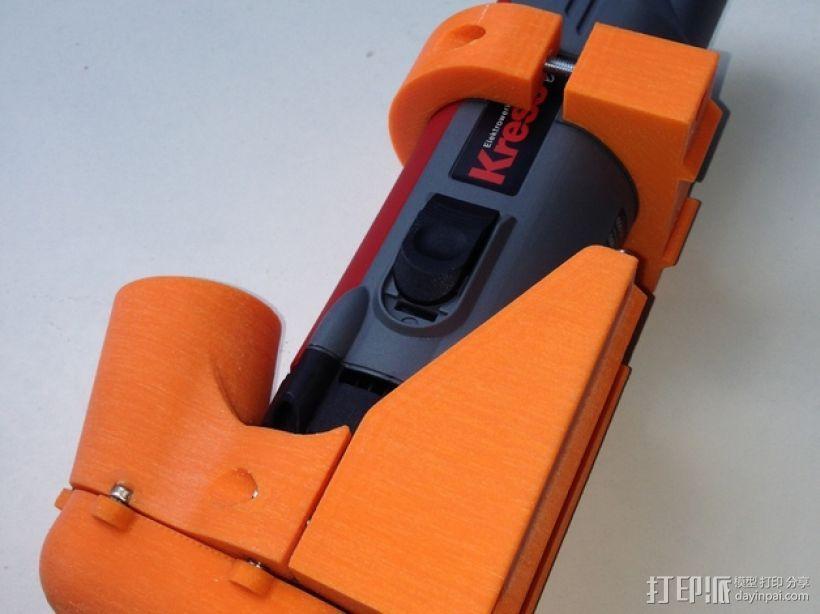Shapeoko CNC设备固定架 3D模型  图3