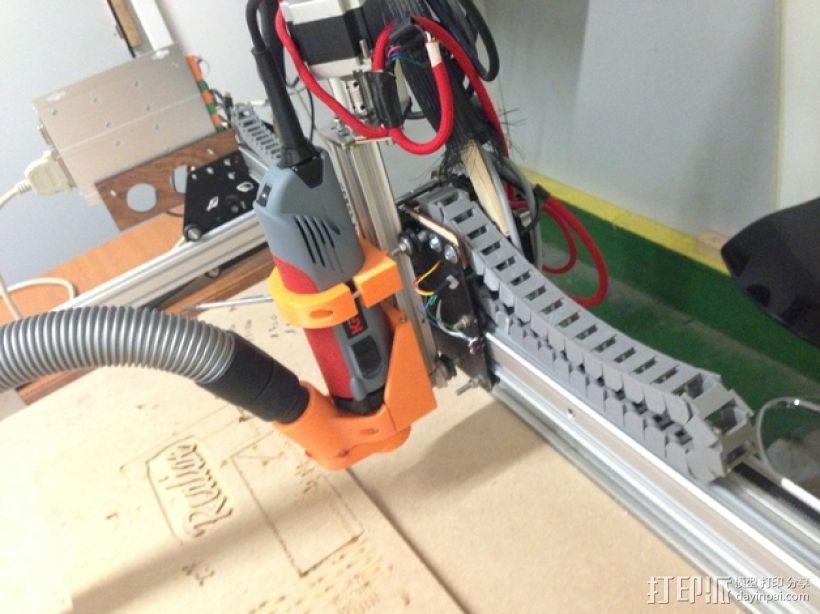 Shapeoko CNC设备固定架 3D模型  图1