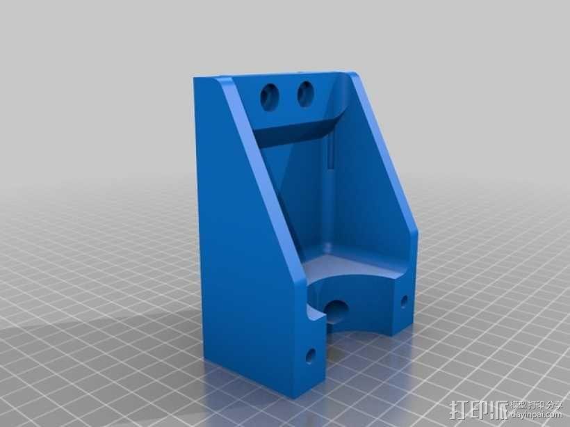 Shapeoko CNC设备固定架 3D模型  图4