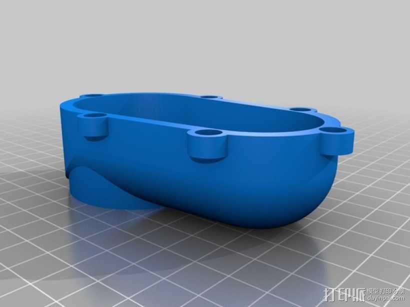 Shapeoko CNC设备固定架 3D模型  图5