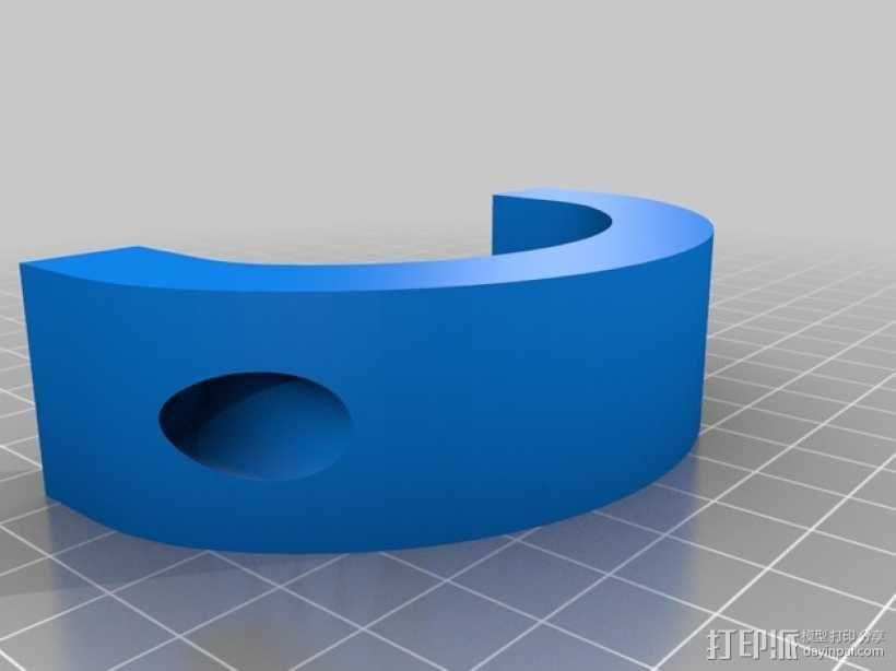 Shapeoko CNC设备固定架 3D模型  图8