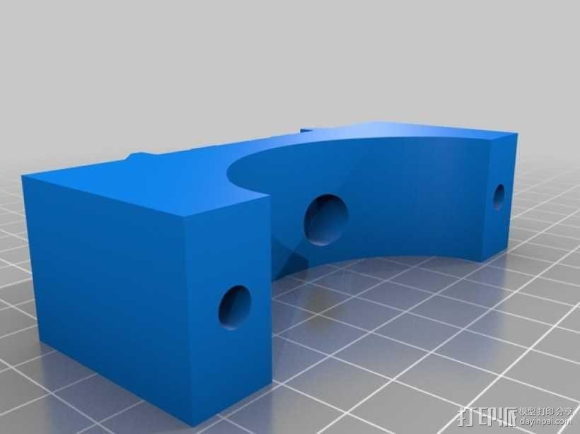 Shapeoko CNC设备固定架 3D模型  图7