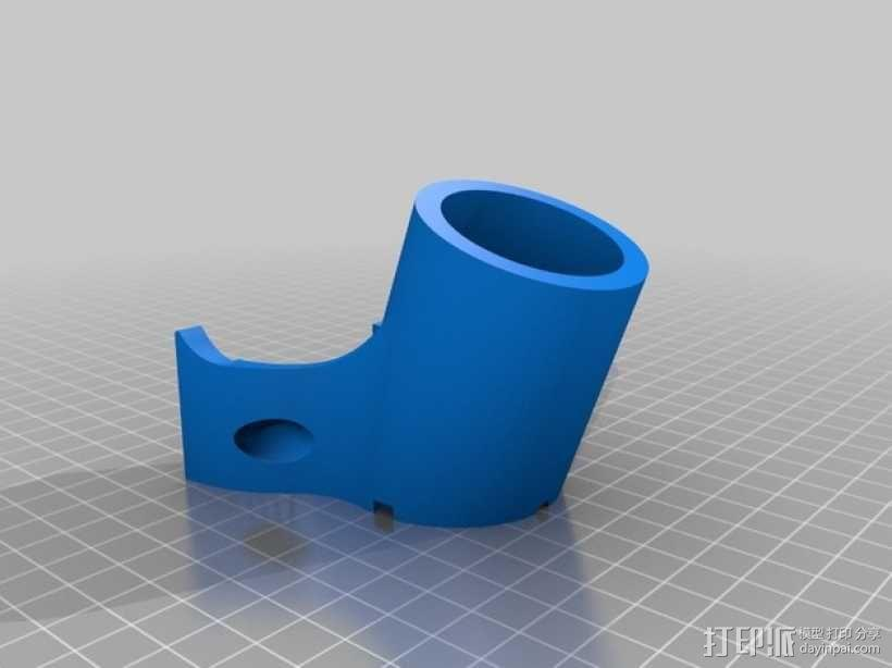 Shapeoko CNC设备固定架 3D模型  图6