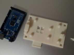 Arduino Mega 2560电路板底座 3D模型