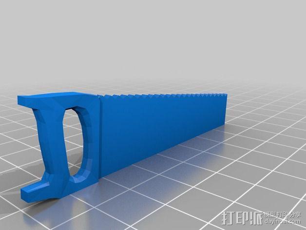 迷你锯子 3D模型  图2