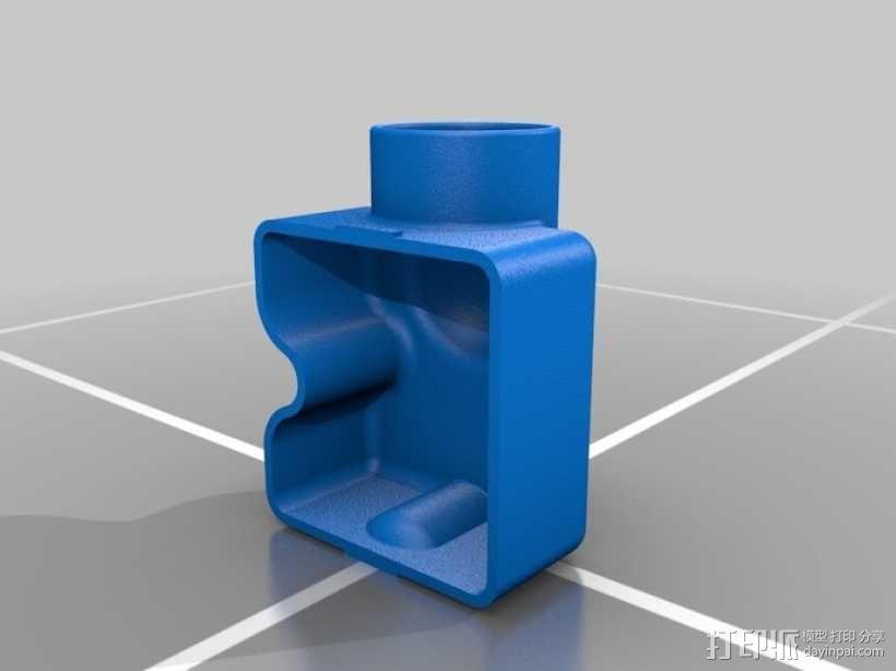 Festool电动工具防尘罩 3D模型  图1