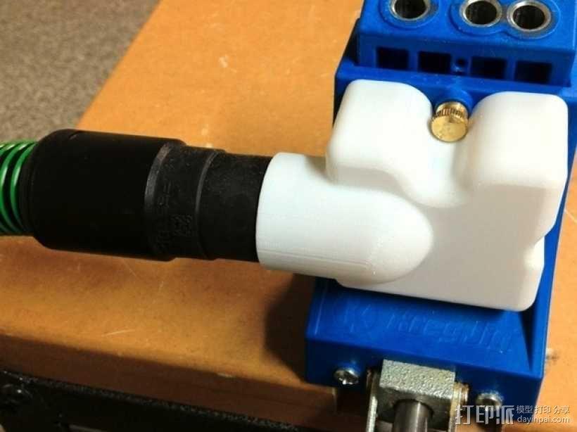 Festool电动工具防尘罩 3D模型  图3