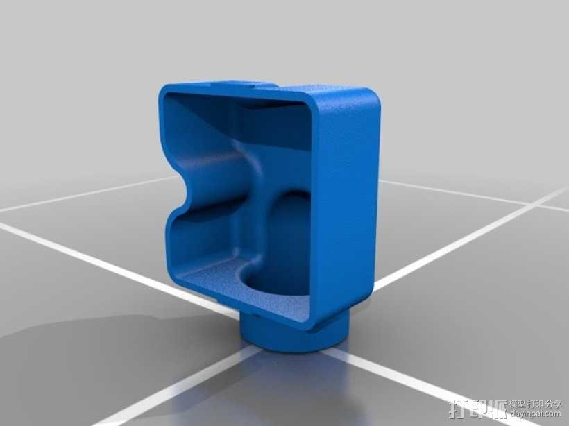 Festool电动工具防尘罩 3D模型  图2