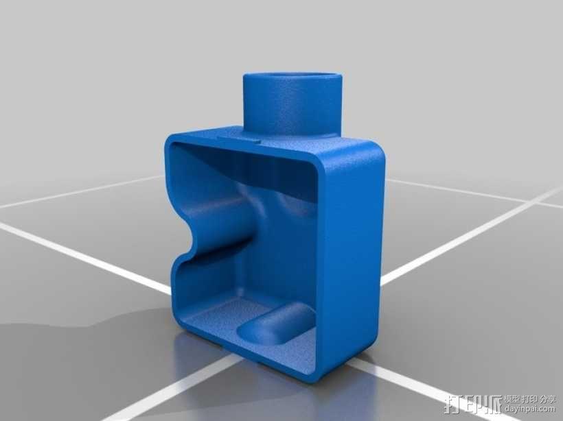 Festool电动工具防尘罩 3D模型  图4