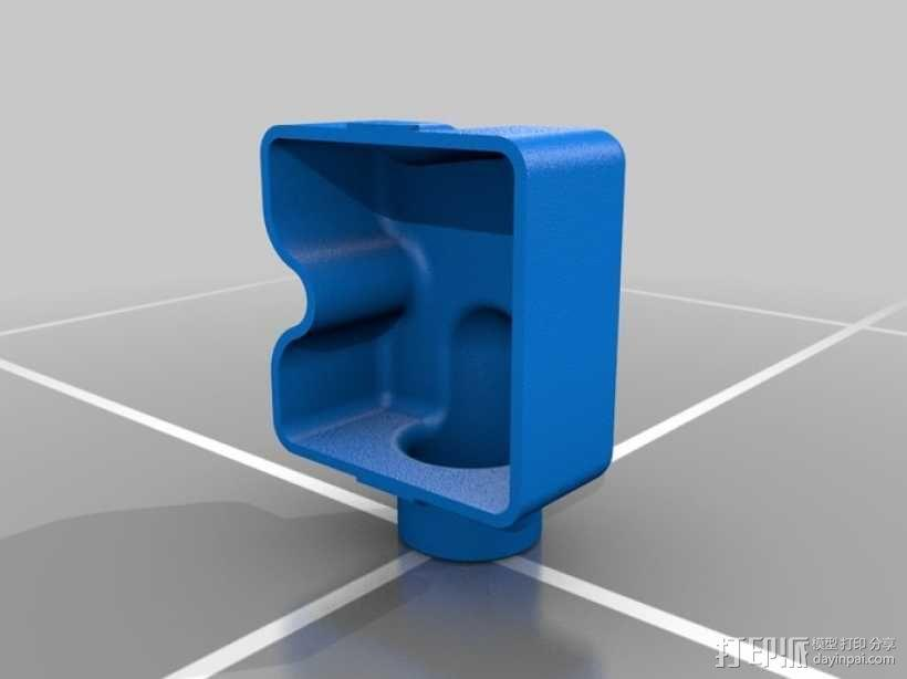 Festool电动工具防尘罩 3D模型  图5