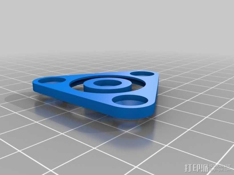 无隔圈滚珠轴承  3D模型  图3