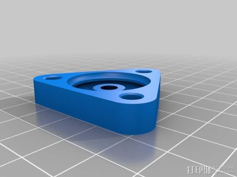 无隔圈滚珠轴承  3D模型  图2