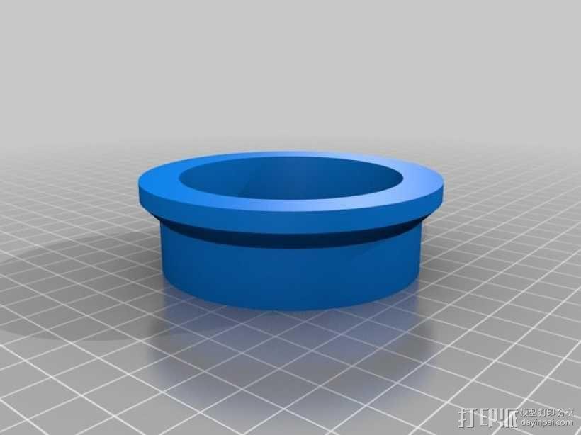 管子切割引导装置 3D模型  图2