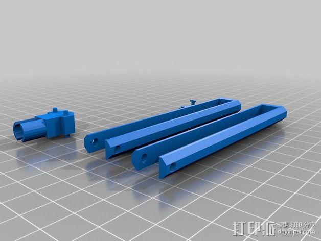 个性化铅笔 3D模型  图1