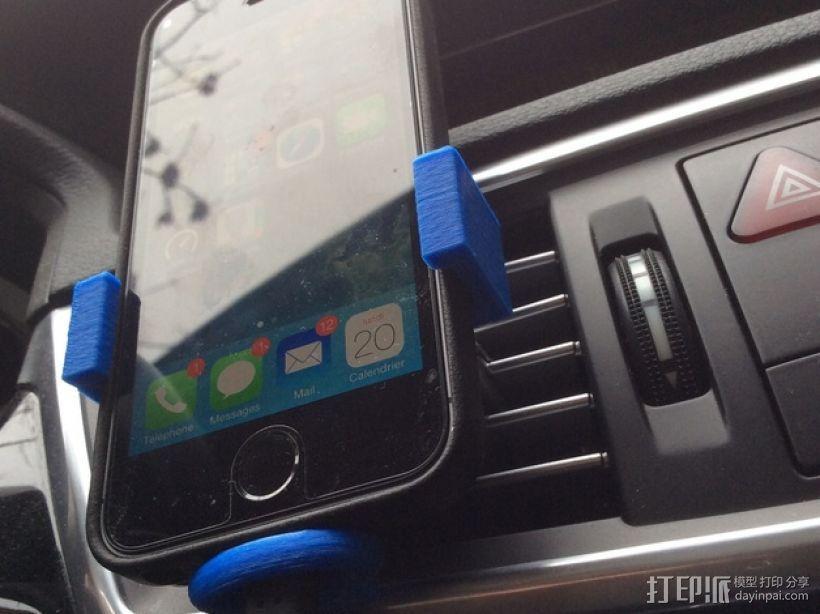 车载 iPhone 5s手机架 3D模型  图4