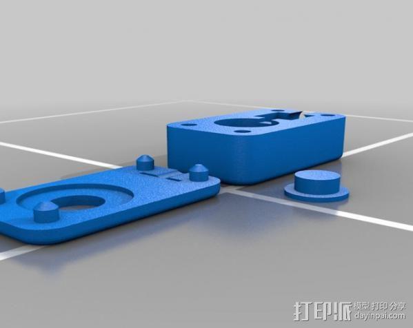 迷你手电筒V2 3D模型  图2