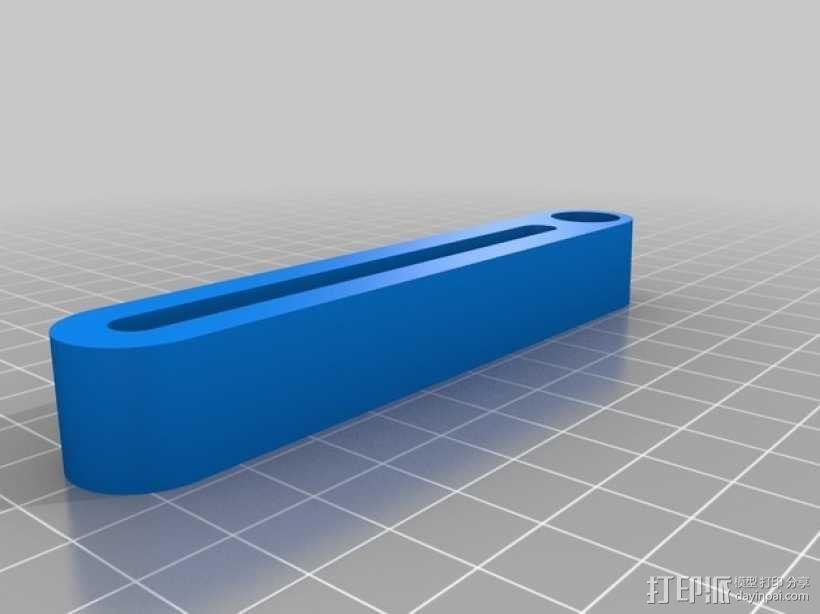 圆盘刀 3D模型  图2