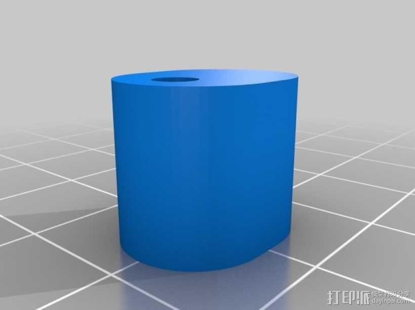 圆盘刀 3D模型  图4