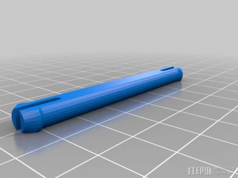 定制化连接销 3D模型  图1