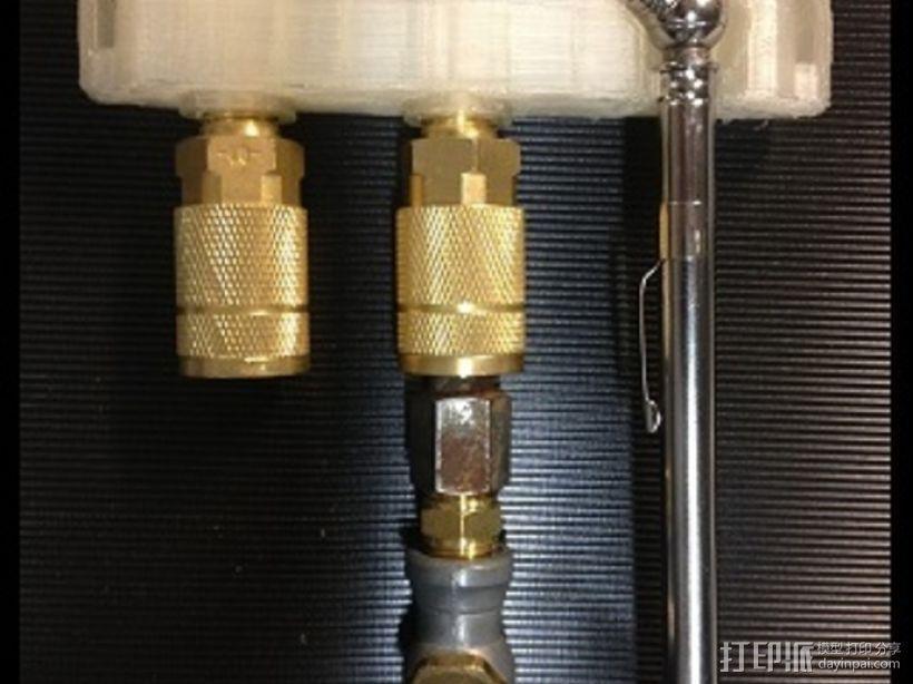 空气压缩机工具架 3D模型  图1
