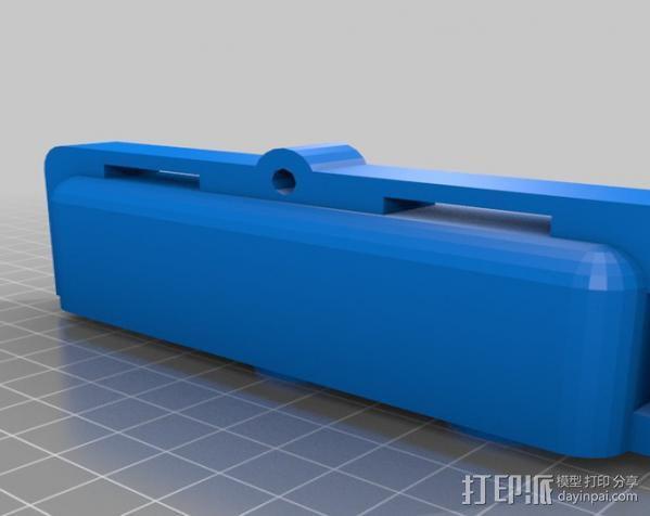 空气压缩机工具架 3D模型  图2