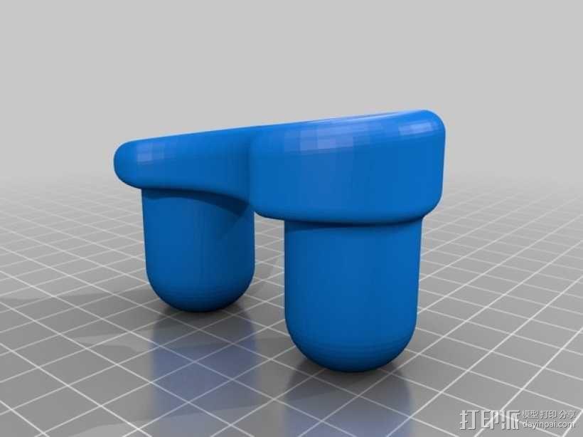 扬声器支架 3D模型  图3