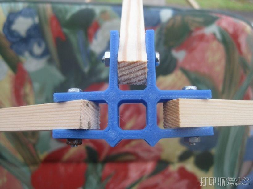 通用框架连接器 3D模型  图3