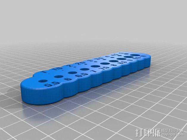 钻孔钻架 3D模型  图2