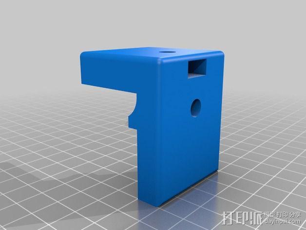三脚架 手机夹 3D模型  图5