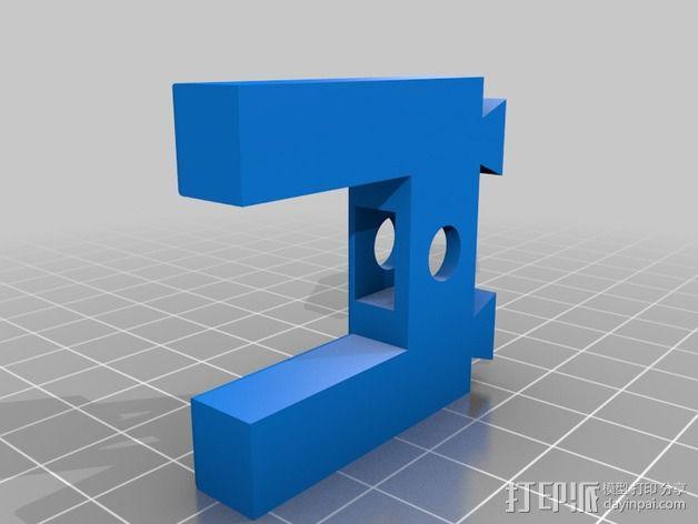 三脚架 手机夹 3D模型  图4